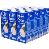 Kit C/12 Unidades - Agua De Coco Kero Coco 1 Litro