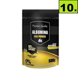 10 * Albumina 500g 83% De Proteína- Asa Power