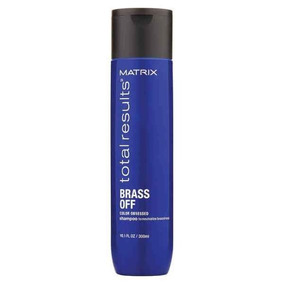 Shampoo Matizador Brass Off X300ml Total Results Matrix