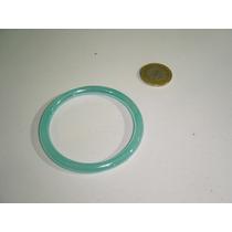 Pulsera De Vidrio En Color Azul Muy Original Bisutería