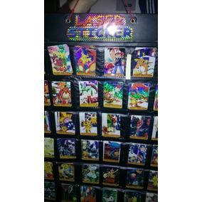 36 Pokemon Laser Stikers + Carta Coleccion