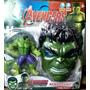 Muñeco Del Increible Hulk 16cm + Mascara Con Luz Y Sonido