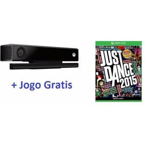 Sensor Kinect Xbox One Microsoft+jogo Just Dance 2015