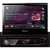 Auto Rádio Cd/dvd/usb/am/fm/bluetooth Avh-4880dvd Preto Pio