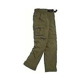 Pantalon Convertible A Short Para Joven Boy Scouts Talla X L
