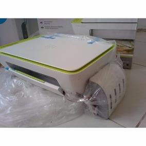 Impressora Multifuncional Hp 2135 + Bulk Ink Luxo Com Tintas
