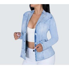 c8f874871a Crisol Jeans Casacos - Blazer para Feminino no Mercado Livre Brasil