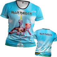 Camiseta Iron Maiden Seventh Son Of A Seven Other Side