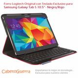 Forro Samsung Galaxy Tab S 10,5 Logitech Teclado Original