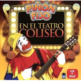 Cd+dvd Piñon Fijo En El Teatro Coliseo Open Music