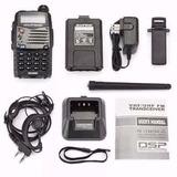 Rádio Ht Baofeng Dual Band Uv-5ra 136-174/400-520 Mhz + Fone