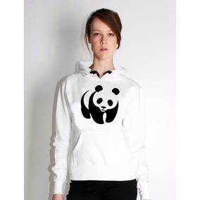 Blusa Panda Moletom Canguru Personalizada A Melhor