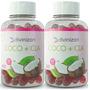 2 Coco + Cla Aceite De Coco 50 Caps C/u Divinizan Metabolic