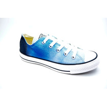 Zapatillas Converse Chuck Taylor All Star Sunset Ox Celeste