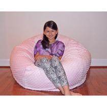 Cuddle Bubble 36-inch Minky Soft Bean Bag Sillon