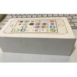 Caixa Iphone 5s Branco Com Documentos E Chavinha Do Chip
