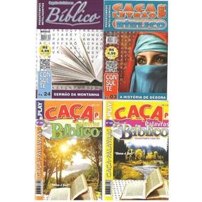 Caça Palavras Bíblicos - Lote Com 20 Revistas Sem Repetição