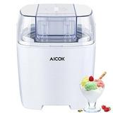 Aizok Ice Cream Maker, Máquina De Helados De 1.5 Cuartos, C