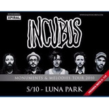 Dvd Incubus Live At Luna Park Bs As Argentina 2010