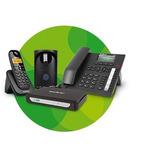 Mini Central Pabx Minicom Plus - Até 2 Linhas E 7 Ramais