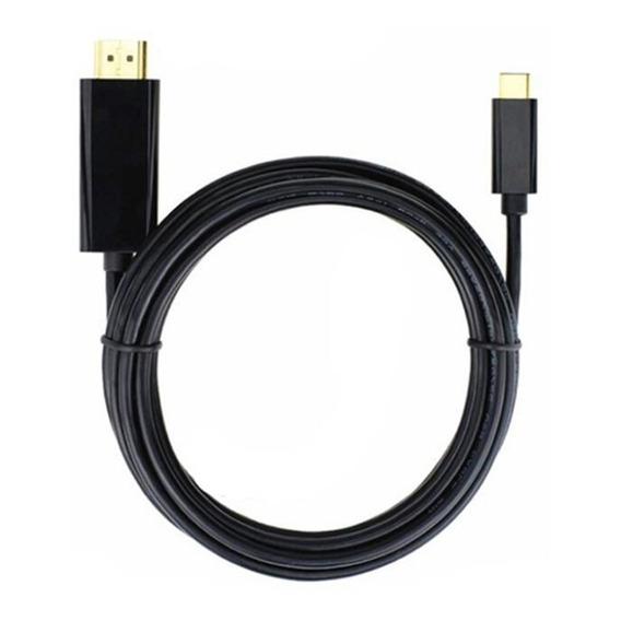 Cable Usb C Hdmi 4k Macbook Chromebook Full Hd 1.8m Mac Pc
