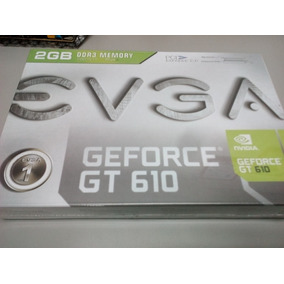 Tarjeta De Video Geforce Gt 610 2gb Dd3 Pci Express 2.0