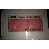 Manual De Usuario Y Mantenimiento Ford Escort Mk 2 Pamperito