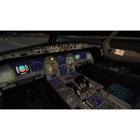 Simulador De Voo Completo Atualizado 2018 Frota Emirates