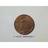 Medalla San Martin Y O Higgins Campo De Mayo 1909 13,5 Gr 30