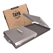 La Plancheta Original 2 Hornallas Con Tapa!!