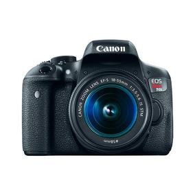 Cámara Canon Eos Rebel T6i Kit 18-55mm Blackdays