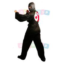 Fantasia De Ninja Adulto - Roupa De Guerreiro Ninja Cosplay