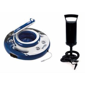 Bar Cooler Flutuante 15 Litros Intex 56822 + Bomba De Inflar