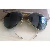 A9960 Raro Óculos Aviador Ray-ban Década De 40 Americano,