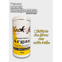 Hidratação Intensiva Argan 1kg Profissional Black Fix