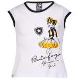 Camisa Infantil Feminina Do Botafogo Rj Oficial Blusinha