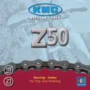 Cadena Kmc Z50 X 116 Eslabones - 6/12/18/21 Velocidades
