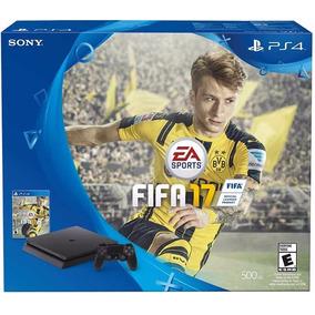 Playstation 4 Slim Ps4 500gb Fifa 17 + Joystick Envío - Leer