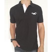 Camisa Gola Polo (camiseta) Kit C/5 Hollister Co. Sem Juros