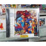 X-men Vs Street Fighter Ex Edition Playstation Ps1 Japones