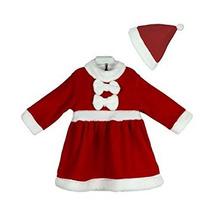 Disfraz Para Niña Navidad Del Traje De Los Bebés Del Vestid