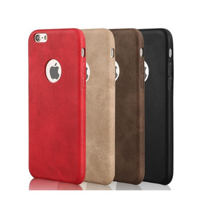 Protector Estilo Piel Iphone 6, 6s, 7, 7plus,8,8+ + Cristal