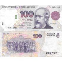 Billete 100 Pesos Convertibles Primer Diseño B Muybueno 3078