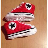 Zapatitos De Bebe A Crochet A Pedido