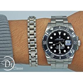 Reloj Role Submariner Negro Autentico Cristal Zafiro+ Envio