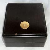 Antigua Caja Estuche De Madera De Reloj Longines Efco