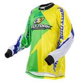 Camisa Modelo Nações Motocross Off Road Trilha Enduro