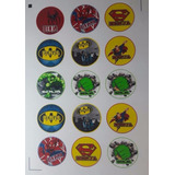 Plancha De Stickers Personalizados Troquelados