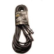 Cable Canon Hembra A Plug Mono Parquer 6 Metros