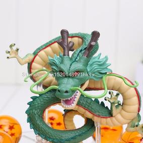 Kit Dragão Shenlong + As 7 Esferas + Base - Dragon Ball Z